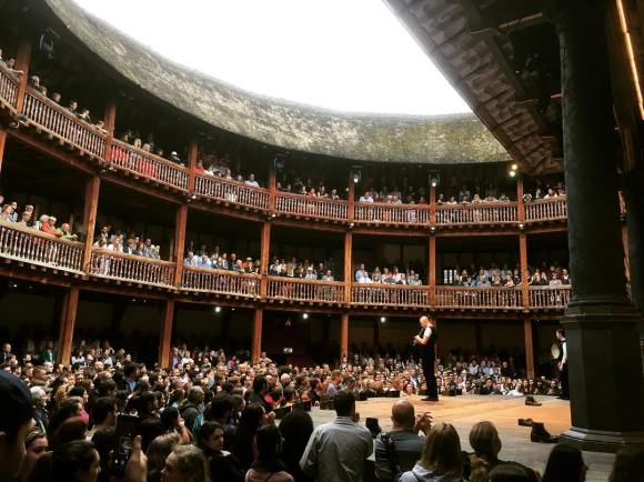 Loïc Bléjean, Shakespeare Globe Theatre, London, July 2016