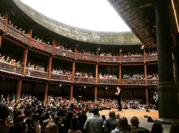Loïc Bléjean, Shakespeare Globe Theatre, London, July 2016