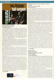 Loïc Bléjean - Tad Sargent - Irish Music Magazine