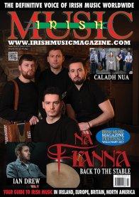 Loïc Bléjean - IRISH MUSIC MAGAZINE COVER 2017