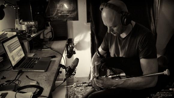 Recording session - Photo Loïc Bléjean